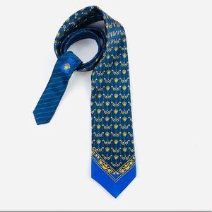 Versace RARE Medusa head print tie